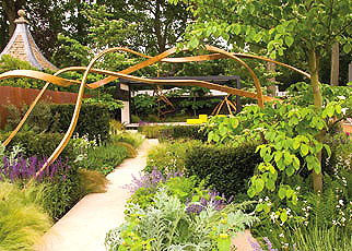 Cancer Research UK's garden at this year's Chelsea Flower Show