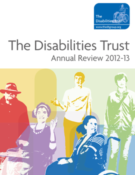 The Disabilities Trust annual report