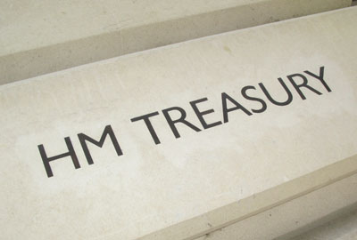 Treasury: George Osborne announced Budget yesterday
