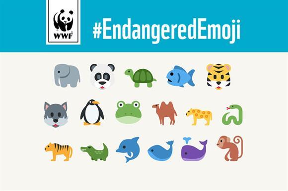 WWF's emoji campaign