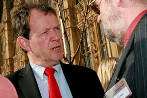Actor Kevin Whately is supporting the Alzheimer's Society