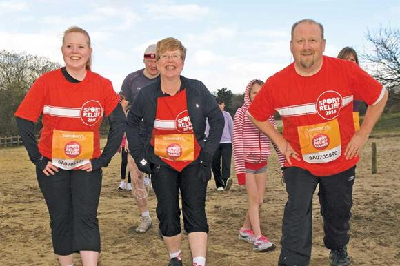 Sport Relief: a chance to showcase innovations