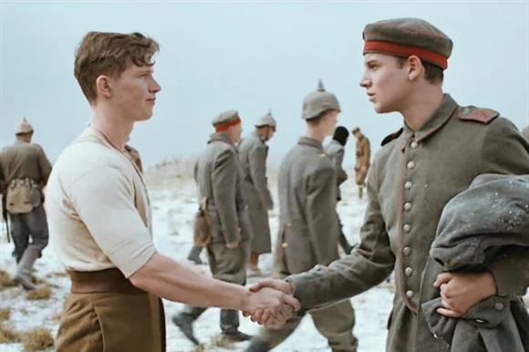 Sainsbury's Christmas advert, run in conjunction with the Royal British Legion