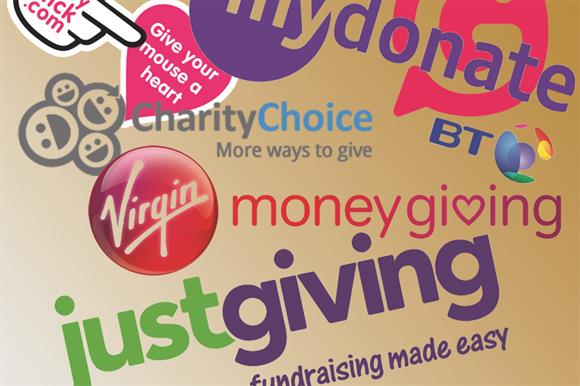 Online giving sites