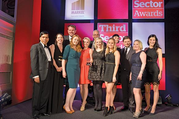 Battersea Dogs & Cats Home: Fundraising Team award