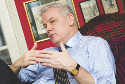 Summerskill says the arrival of equal marriage in the UK will give Stonewall the credibility to campaign internationally