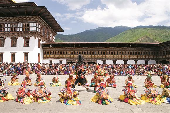 Thimphu Tsechu: escape for Acevo boss
