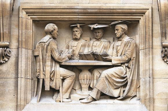 Set in stone: Oxford dons on the Examination Schools building