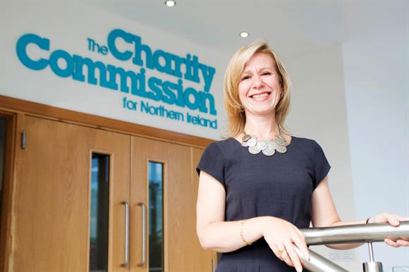Frances McCandless, chief executive of the Charity Commission for Northern Ireland