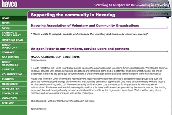 Havco: to close in September