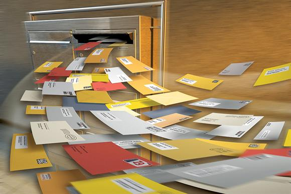 Direct mail: dependent on lists