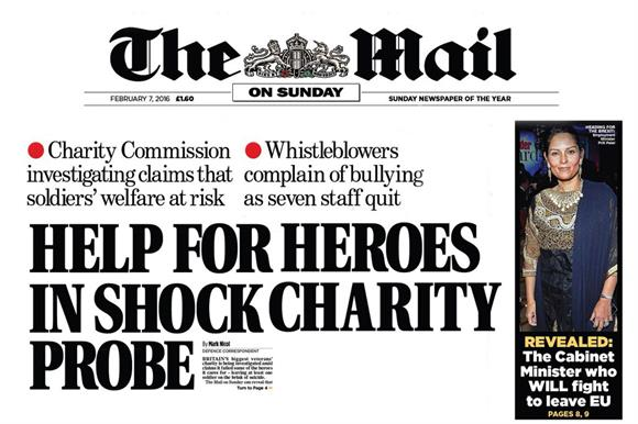 The Mail on Sunday story