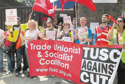 Unite members at One Housing Group