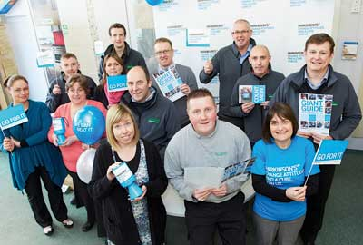 Parkinson's UK and Tile Giant