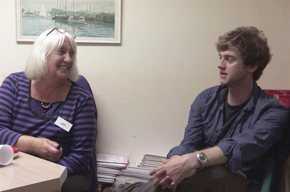 A scene from the Samaritans documentary