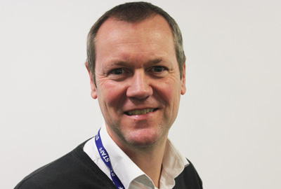 Steve Palmer runs a Down's Syndrome support group and is a Charity Comms trustee