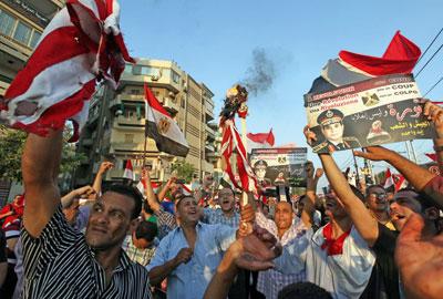 Tahrir Square - role for social media in Egypt revolt