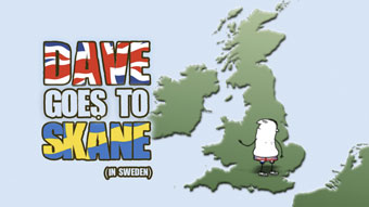 VisitSweden 'Dave goes to Skane' by glue London