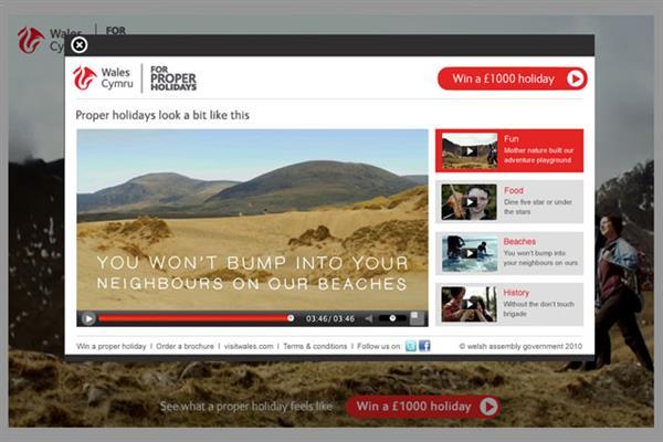 Visit Wales 'for proper holidays' Kitcatt Nohr Alexander Shaw