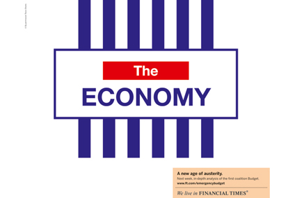 The Financial Times 'economy' by DDB UK