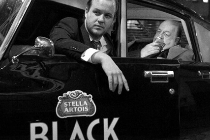 Stella Artois Black 'the night chauffeur' by Mother