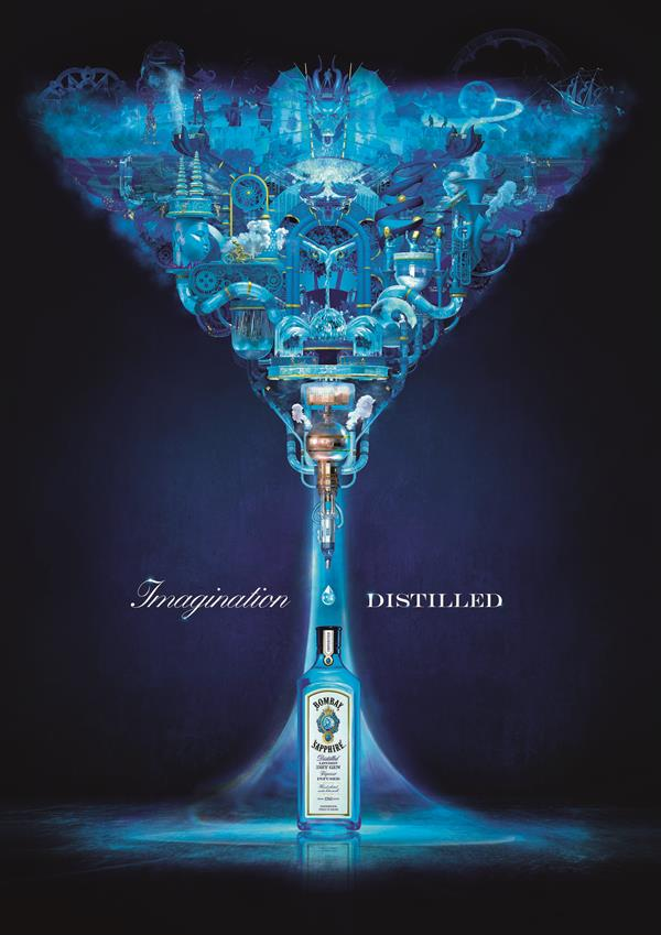 Bombay Sapphire Quot Imagination Distilled Quot By Gravity Road