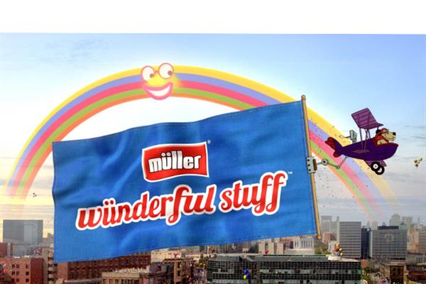 Muller 'wnderful stuff' by TBWA\London