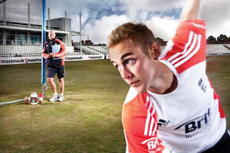 Maximuscle: Brand ambassadors include England cricketer Stuart Broad