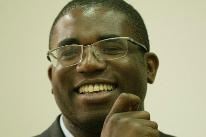 Appeal: taken to David Lammy MP