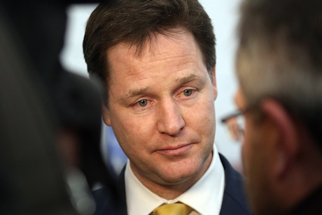 Nick Clegg: under media scrutiny
