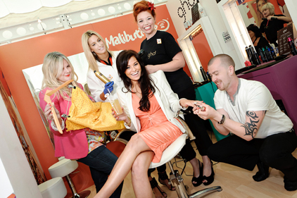 Malibu pop-up: The Only Way is Essex star Jessica Wright visits