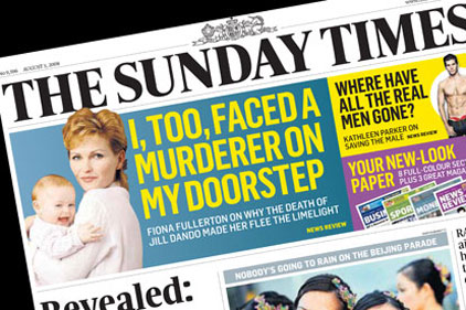 The Sunday Times: faces allegations of 'blagging'