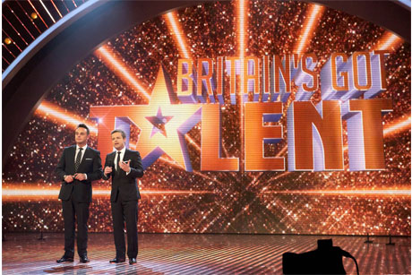 On the CV: Britain's Got Talent (Credit: Ken McKay/Thames)