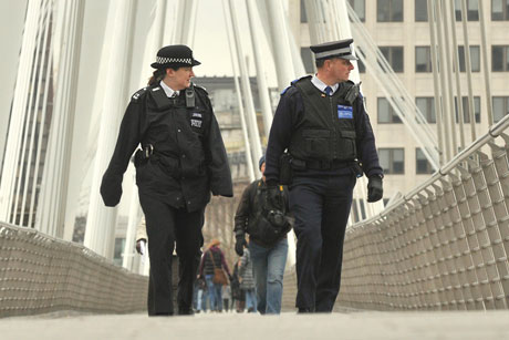 Met Police: Deeble to communicate changes (credit: Met Police)