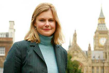 Justine Greening: hires Interel's Graham Hook