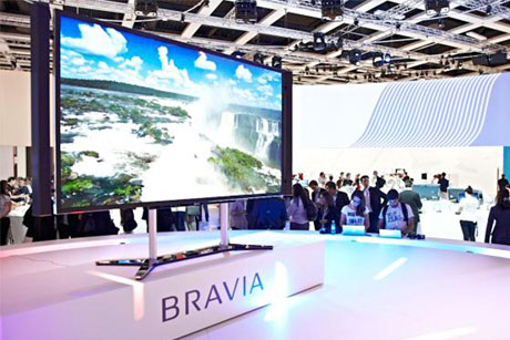 Full screen ahead: Bravia TVs are a key part of the Sony portfolio (Credit:  Sony Europe Limited)