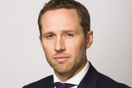New role: Gavin Davis is running Bell Pottinger's financial arm