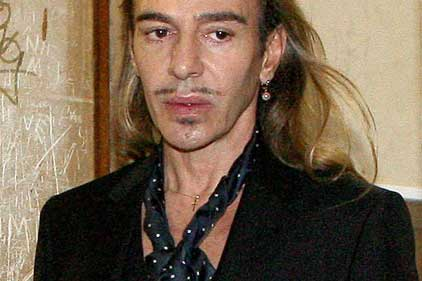John Galliano: avoids prison (Rex features)