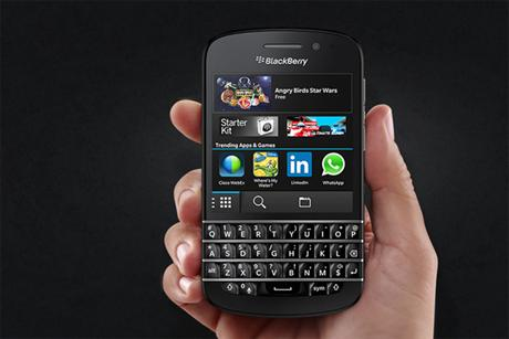 BlackBerry 10: launched at Selfridges