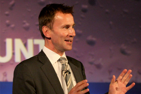 Health Secretary: Jeremy Hunt called 'cover-up' unacceptable