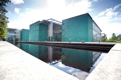 Symantec: head office in Reading