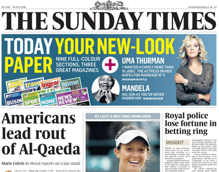 Sunday Times: former journalist joins Powerscourt