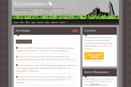 Twitter report: Tweetminster