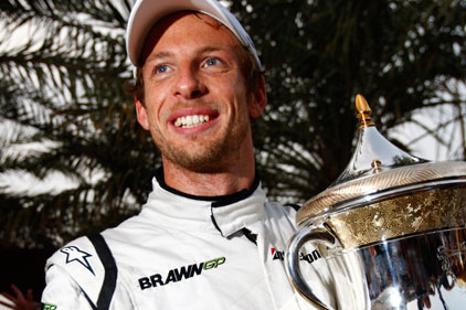 Formula One champion: Jenson Button