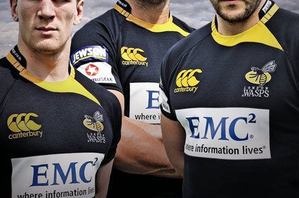 Sponsors of London Wasps: EMC appoints GolinHarris