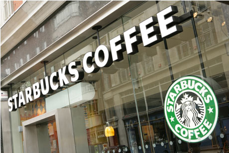 Paid up: Starbucks has paid £5m in corporation tax.