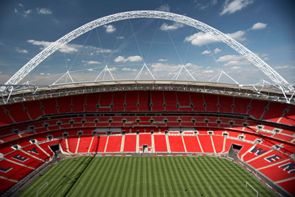 Wembley: home to prestigious football events