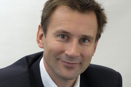 Jeremy Hunt: shadow culture secretary