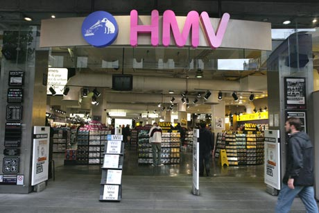 HMV: staff tweet redundancy numbers
