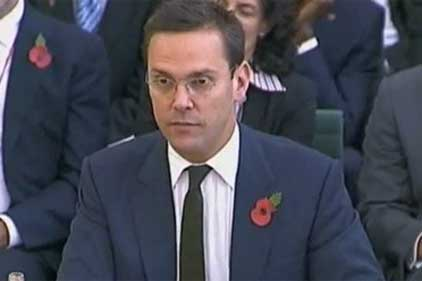 James Murdoch: questioned by Commons media committee